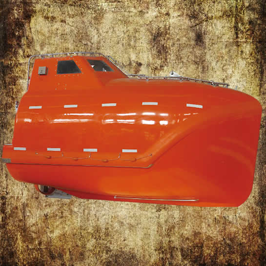 Enclosed Free Fall Lifeboat