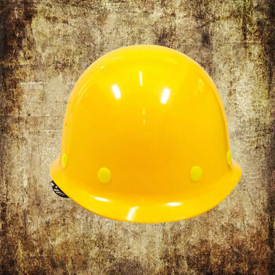 Polyester safety helmet