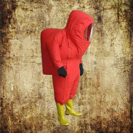 gas protection suit