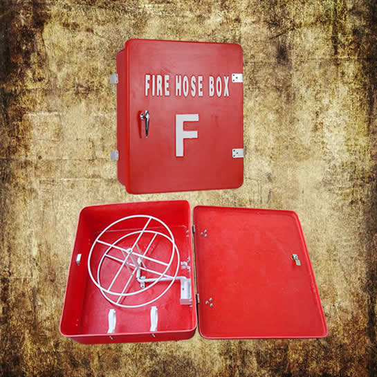 Fiberglass Fire Hose Box Single Side Treated
