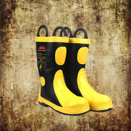 Fireman Rubber Boots Type 02