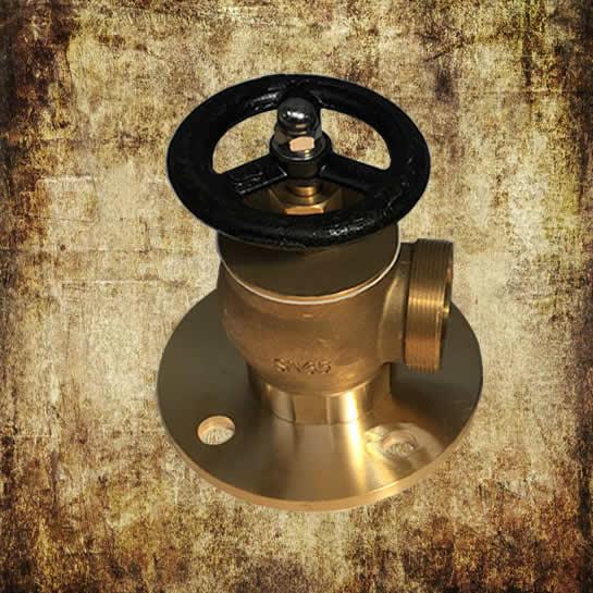 Marine Angle Fire Hydrant Valve