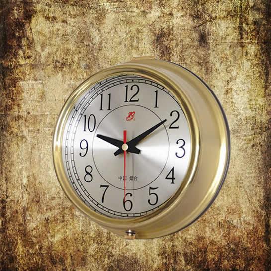 Brass Marine Clock