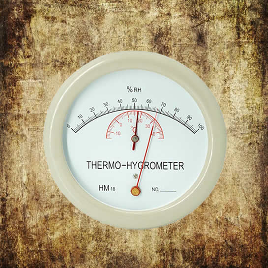 HM18 Dial Thermo-Hygrometer