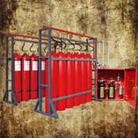 Marine CO2 Fire Suppression System
