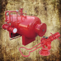 Marine Fixed Deck Foam Fire Fighting System