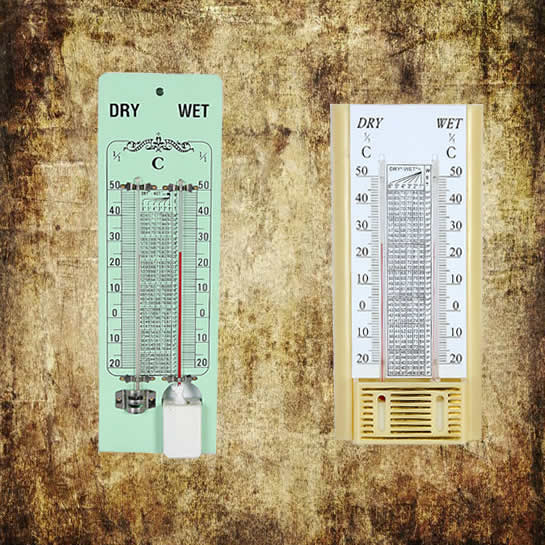 Wet and Dry Bulb Hygrometer
