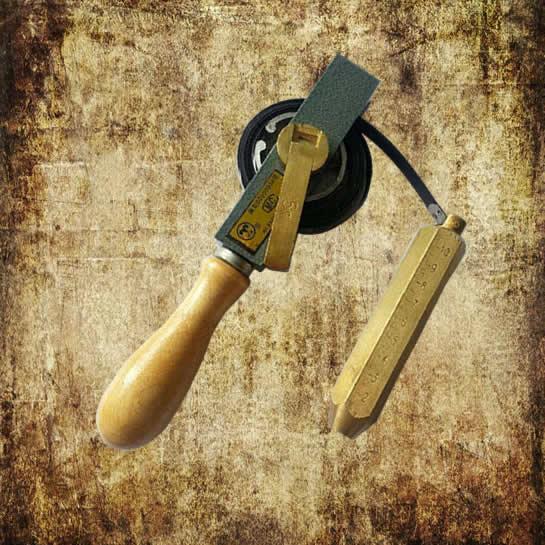 Wooden Handle Oil Gauging Tape