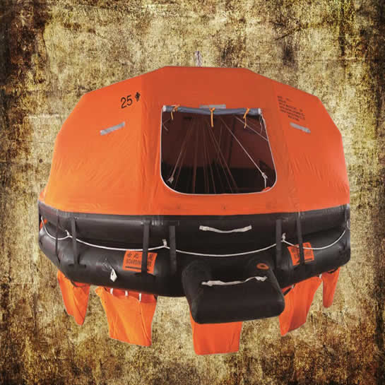 25 Person Davit Launched Liferaft
