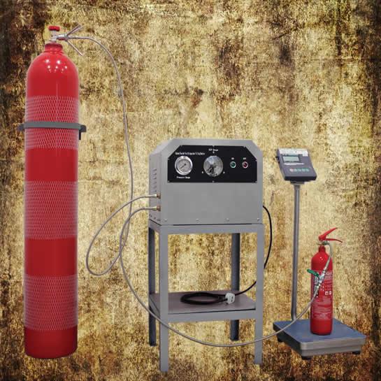Carbon dioxide refilling machine GMT-C