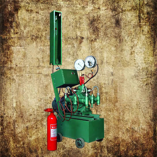 Extinguisher Pressure Testing Machine