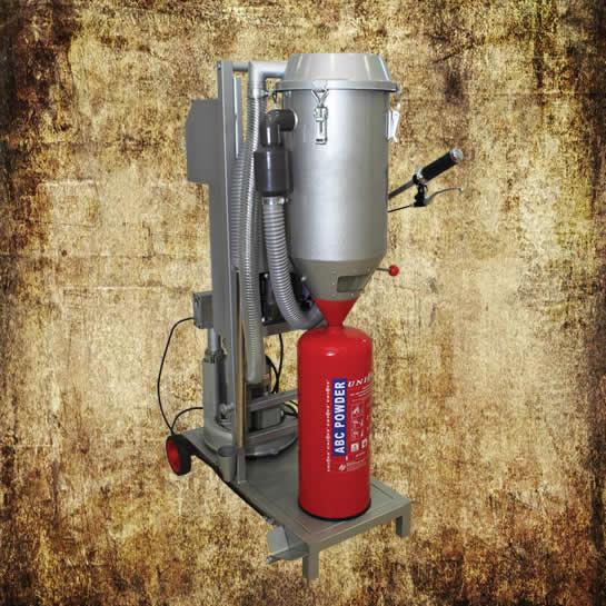 dry powder refilling machine GMF-C