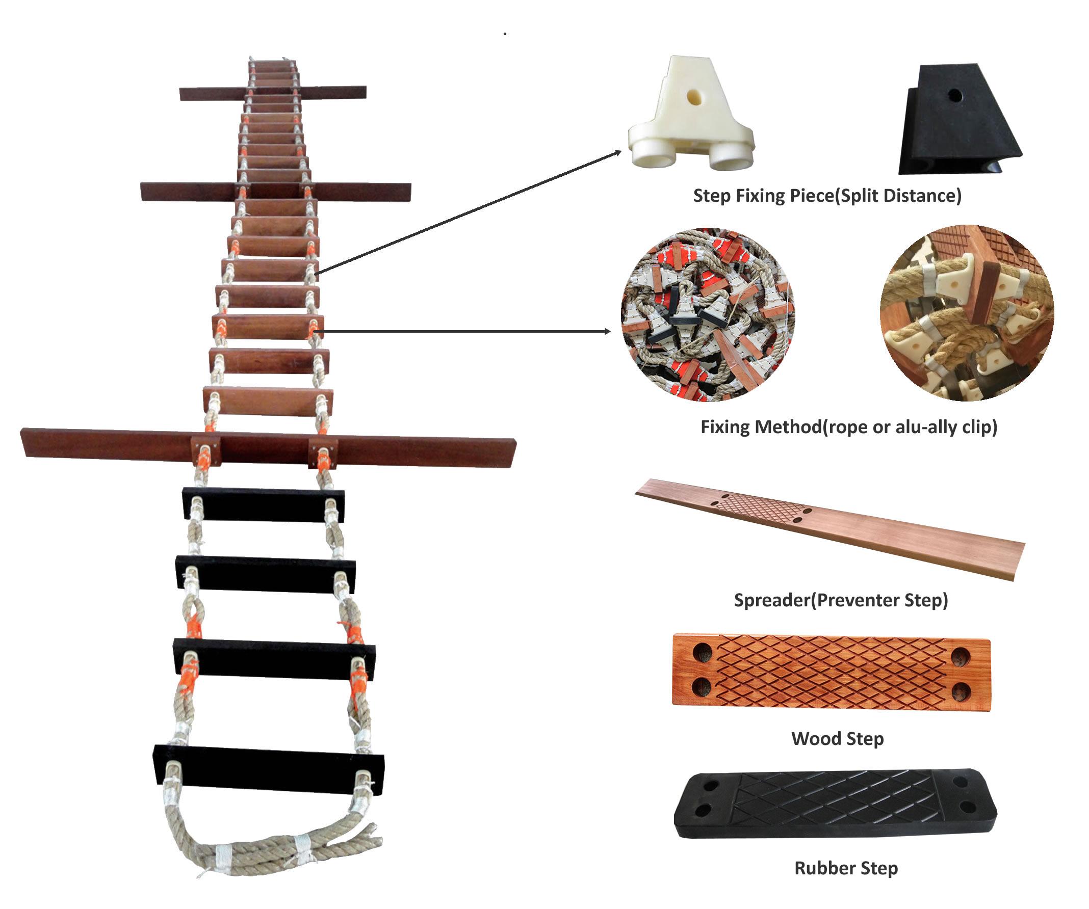 pilot ladder parts